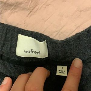 Wilfred wool Darontal pant